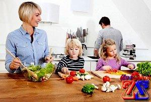 Овощи и фрукты богаты витаминами