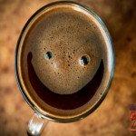 Кофе улыбается?!