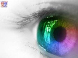 Цветная контактная линза