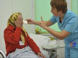 Бабушка после операции