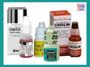 Аптечка больного катарактой