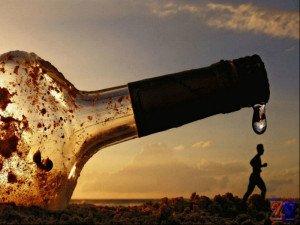 Одна из причин ангиоспазма - алкогольная интоксикация