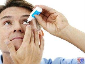 Могут быть назначены глазные капли