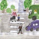 Как видят дорогу дети