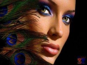 Вечерний макияж может быть более интенсивным