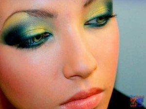Рекомендуется использовать разные оттенки зеленого цвета