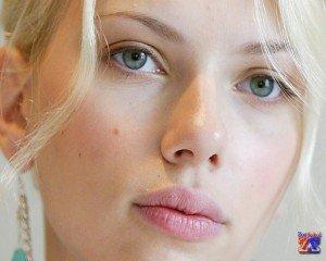 Блондинка с зелеными глазами: Скарлетт Йохансон