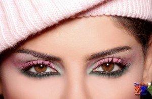 Макияж для маленьких глаз (карих и голубых)