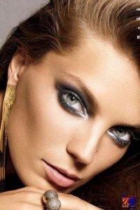 Серо зеленые волшебные глаза