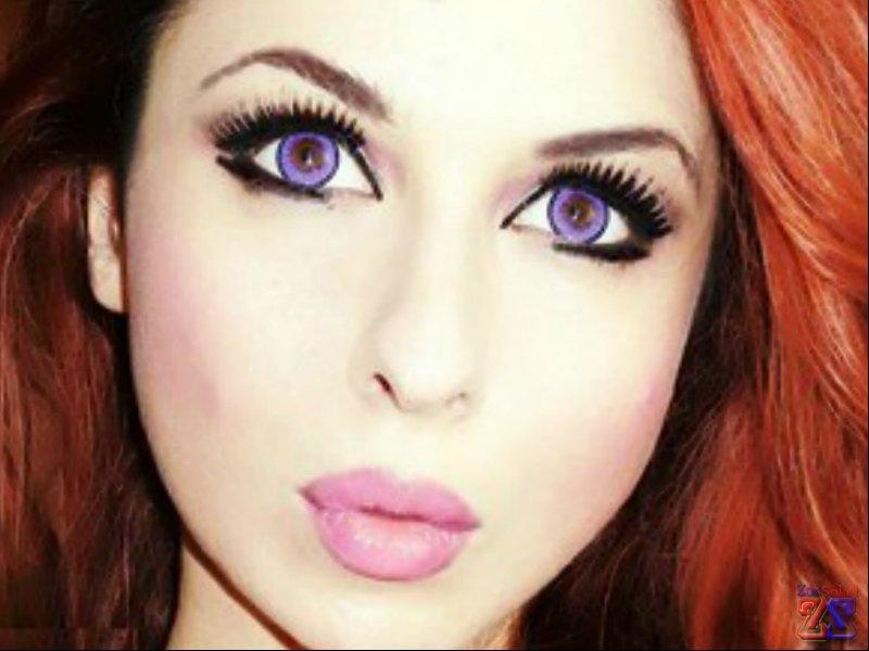 Как сделать макияж чтобы увеличить глаза в фото