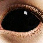 Как сделать глаза черные в жизни
