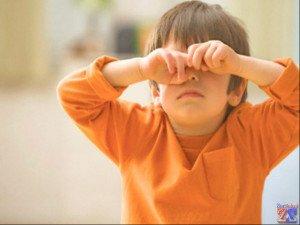 Детский конъюнктивит часто вызван несоблюдением гигиены