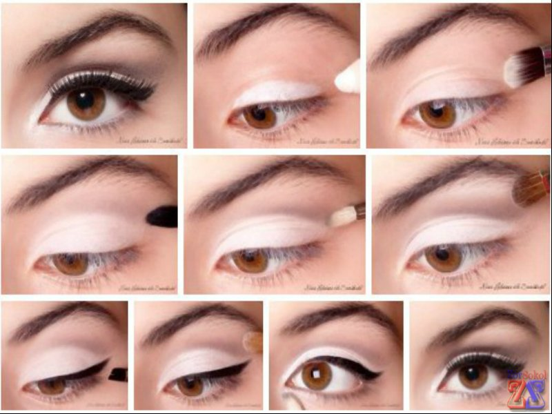 Дневной макияж. пошаговая инструкция с фото