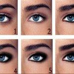 Мейк для голубых глаз