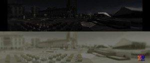 Ночной город: видение человека и кошек