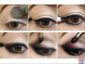 Базовая техника нанесения макияжа