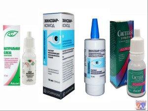 Облегчить глазные страдания могут увлажняющие препараты