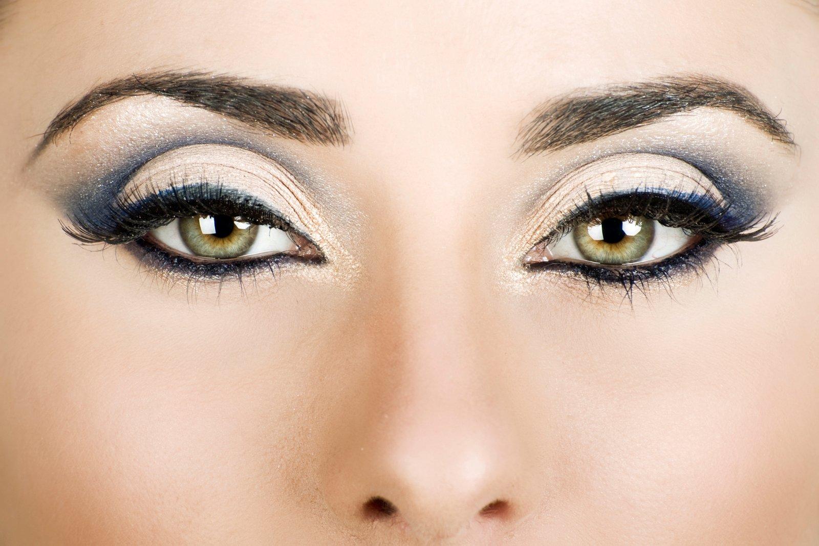 Красивый макияж под зеленые глаза