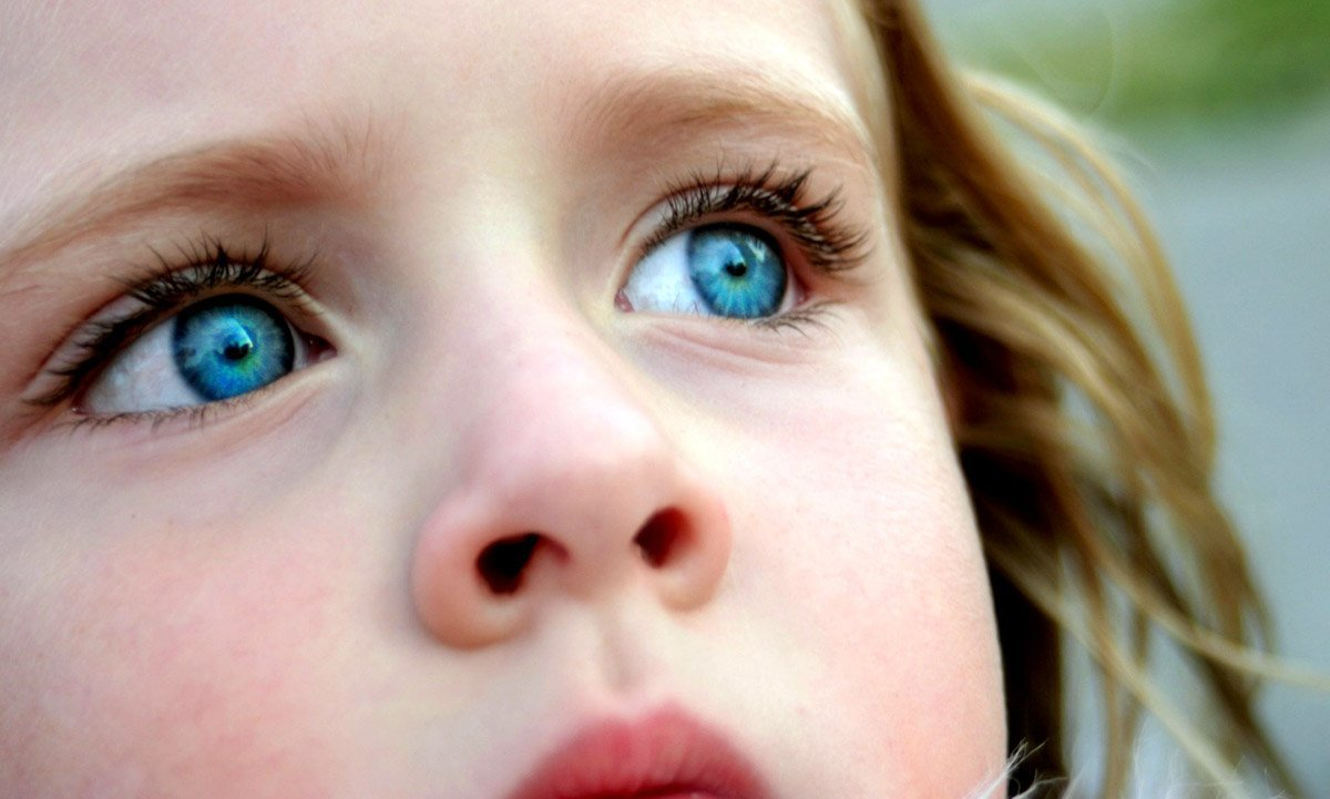 О глазах цвета северного моря