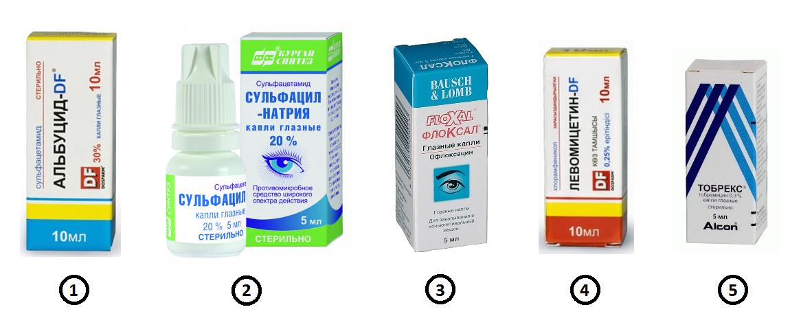 Мазь для глаз при конъюнктивите