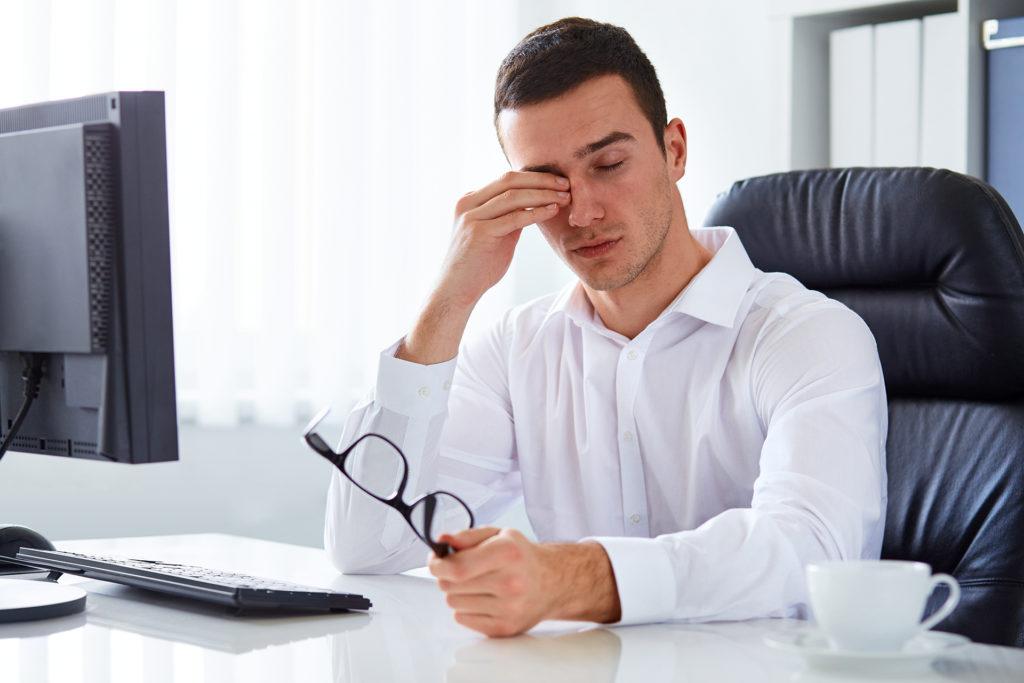 Усталость глаз и компьютер